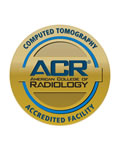 ACR Accredited Facility for CT Scan logo