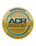 ACR Accredited Facility for Mammography logo