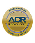 ACR ACcredited for Facility for Nuclear Medicine logo