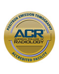 ACR Accreditated PET/CT Scan logo