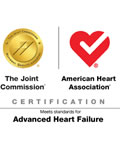 Advanced heart failure care joint commission certificaiton