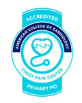 Chest Pain Center accreditation