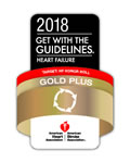 American Heart Association gold plus award