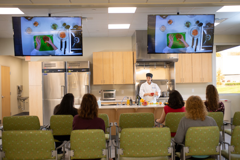 Weight Loss Surgery & Wellness Center Demonstration Kitchen