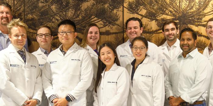 Podiatric residency faculty and residents