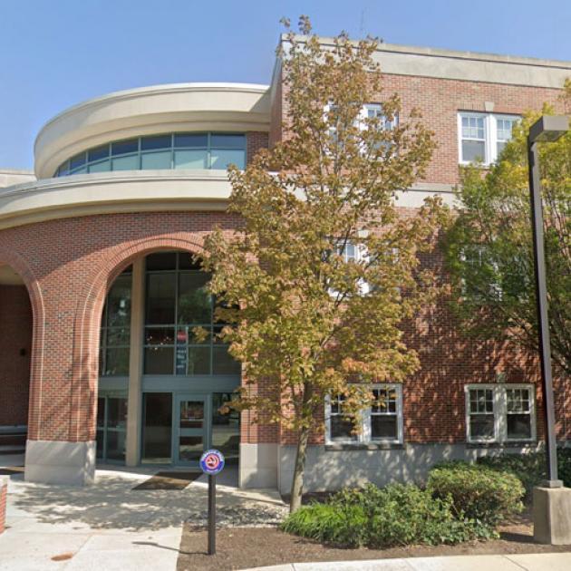 Exterior of DOB building at Reading Hospital