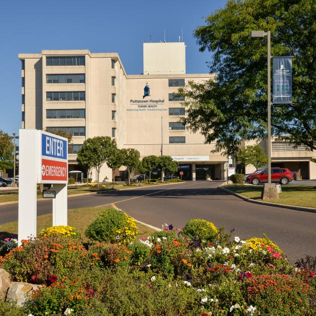 Pottstown Hospital Exterior