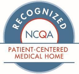 Weight Loss Surgery & Wellness Center patient-centered medical home award badge
