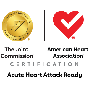 Nationally Recognized Heart Care award logo