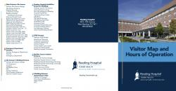 Reading Hospital campus map